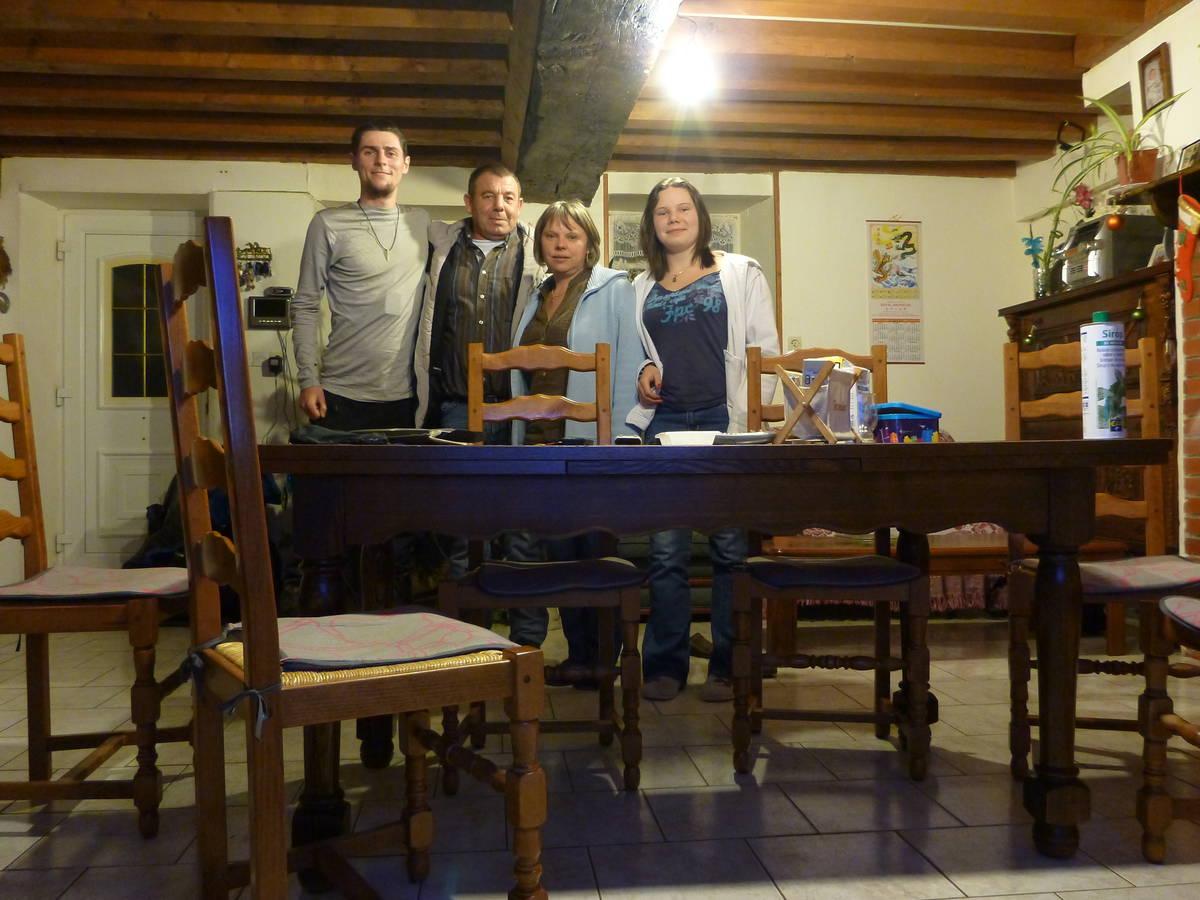 Merci à Didier(Père) , Roseline(Mère) et à Julia(Fille) [St Patrice-Bois du-Dessert]