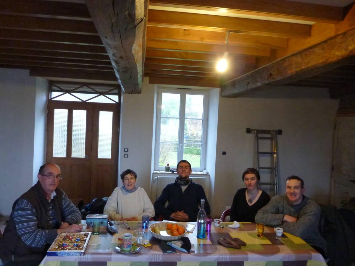Merci à Jean Ive(Père) , Francine (Mère) , Marie Noel (Compagne de François) et François (Fils) [Sourdeval]