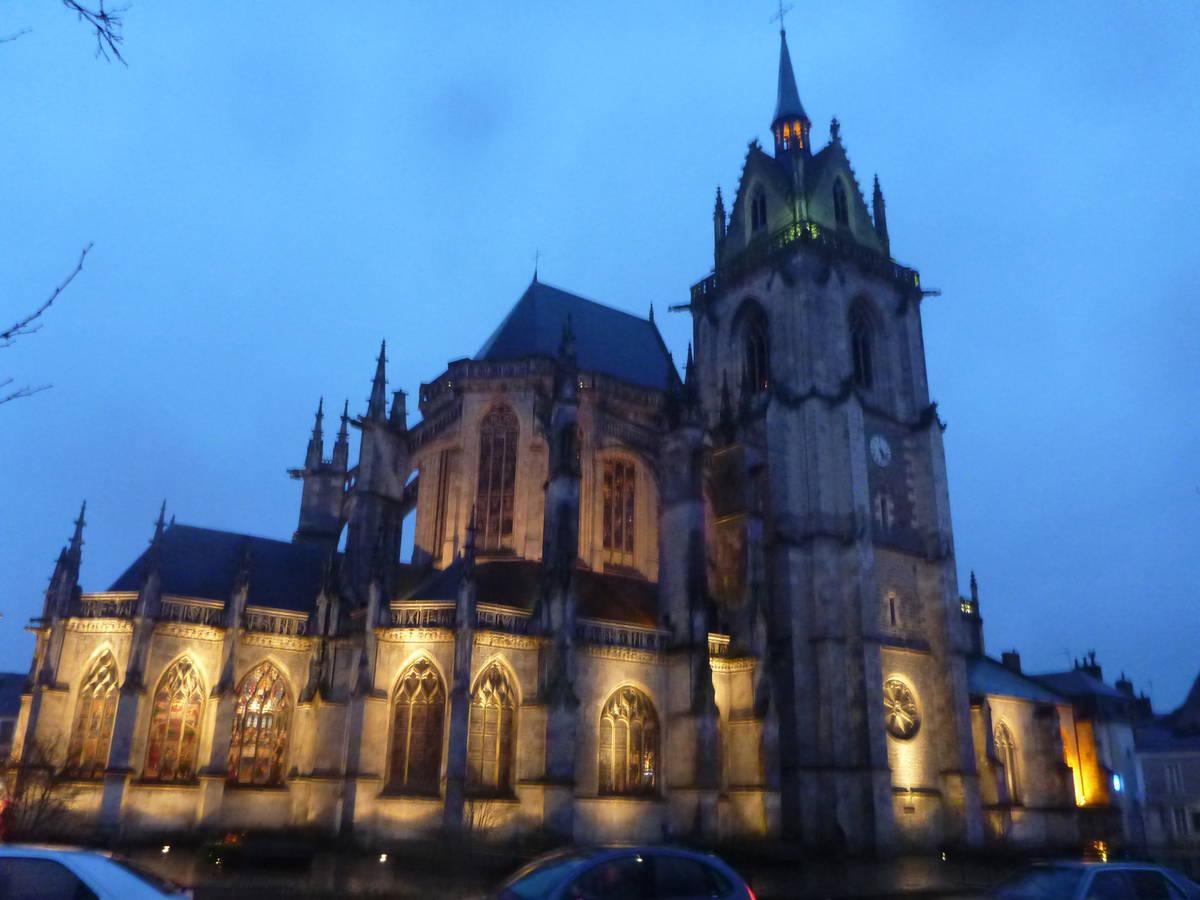 Eglise Notre-Dame-des-Marais de la Ferté Bernard.