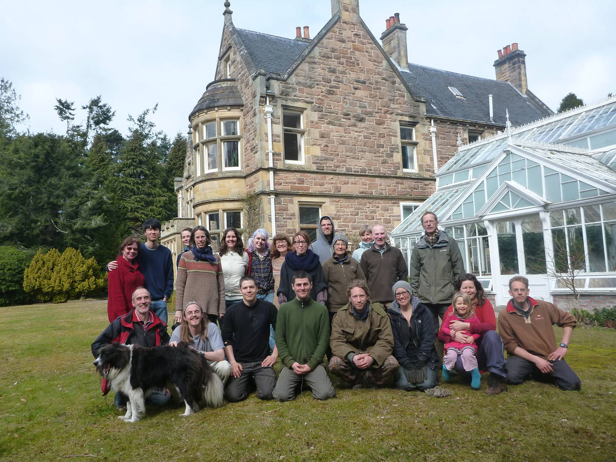Thank to Newbold House [Forres]