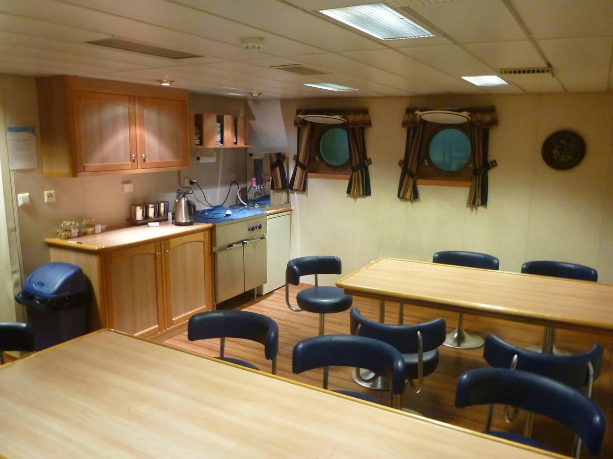 La salle à manger des marins