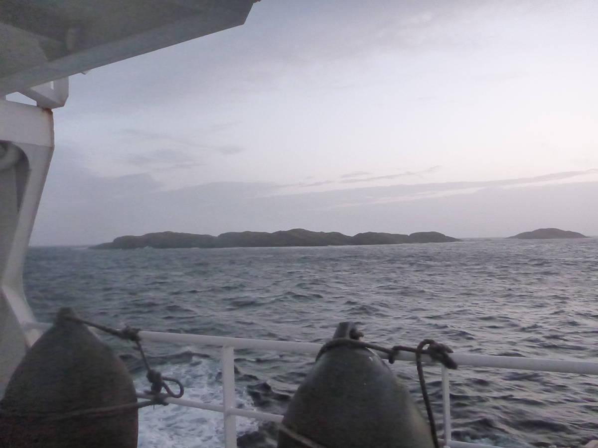 Nos premières terres, ce sont des petites iles