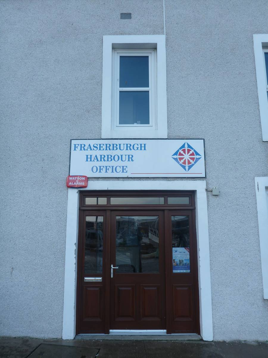 Thank to Harbour Office [Fraserburgh]