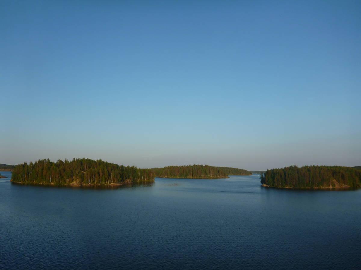 Le lac Saimaa