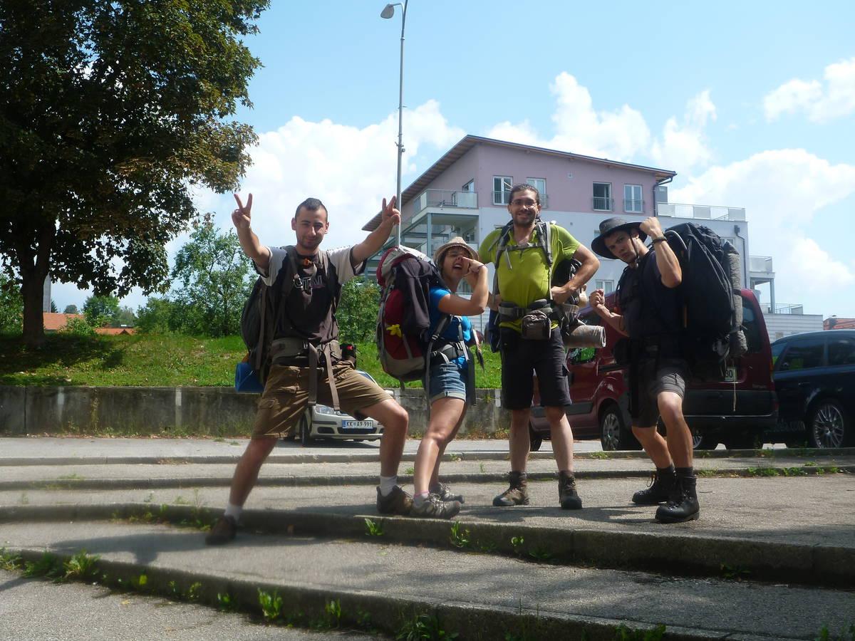 Vacance en Slovénie avec les potes de France