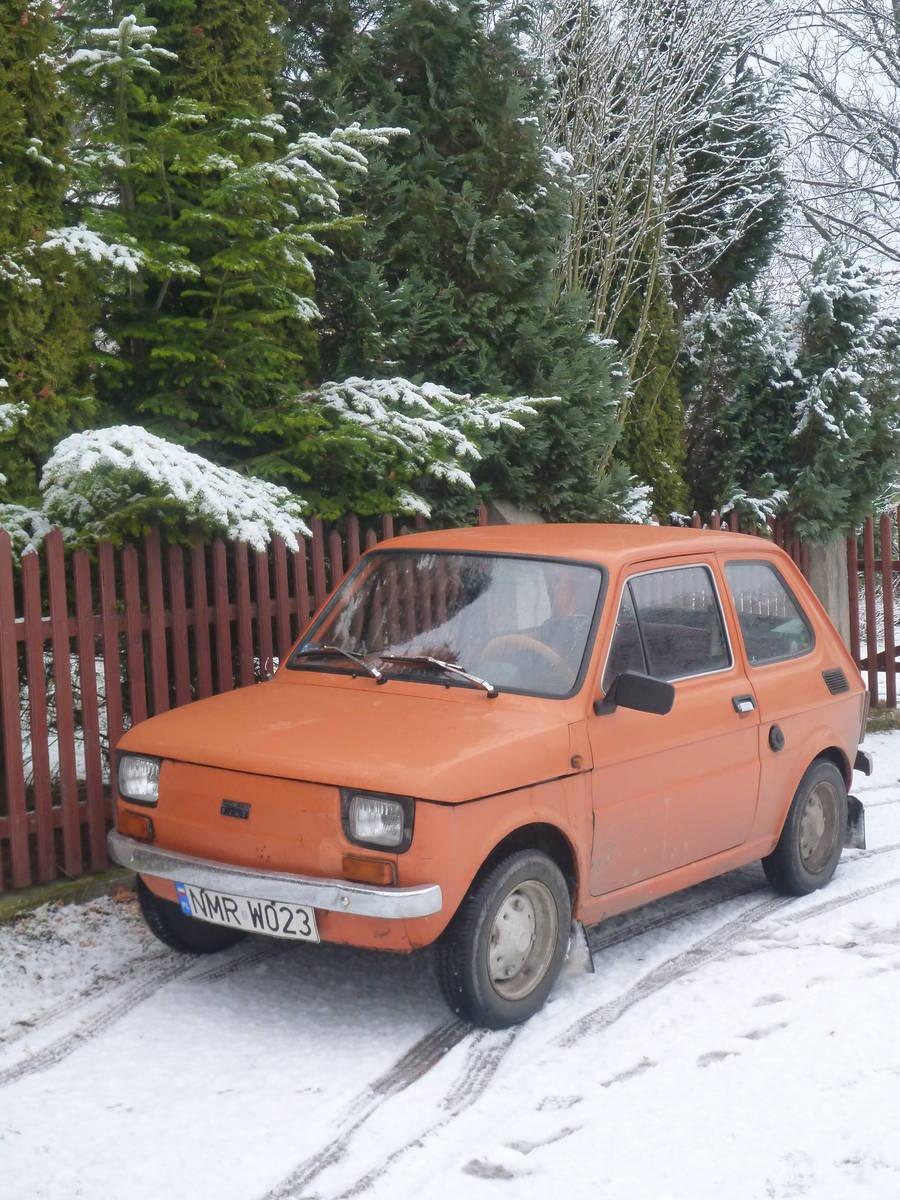 La très célèbre Fiat Polska