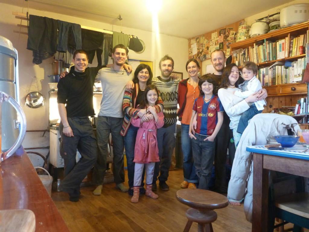 La famille de Vivian et Chris