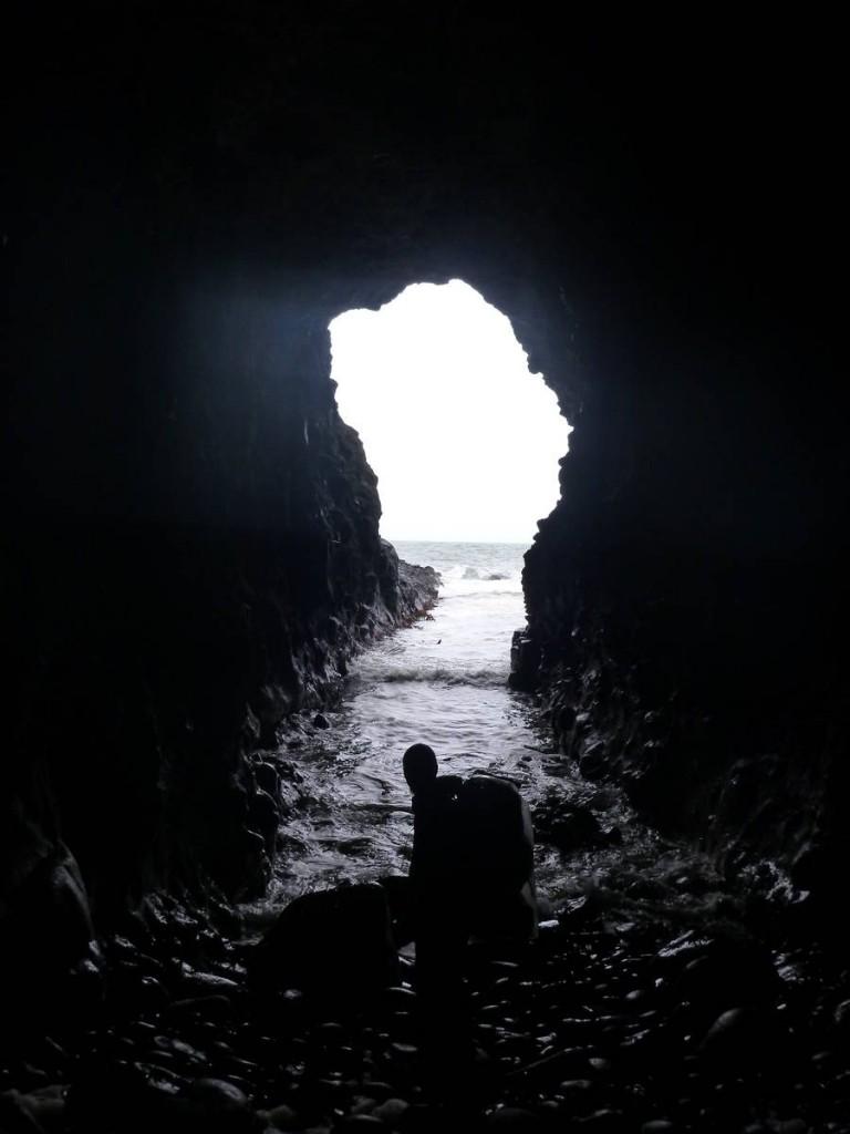Sous un château