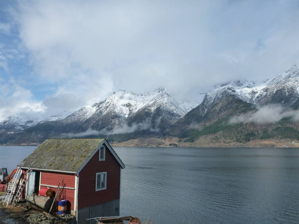 Les maisons en ossature bois sont très typiques de la Scandinavie