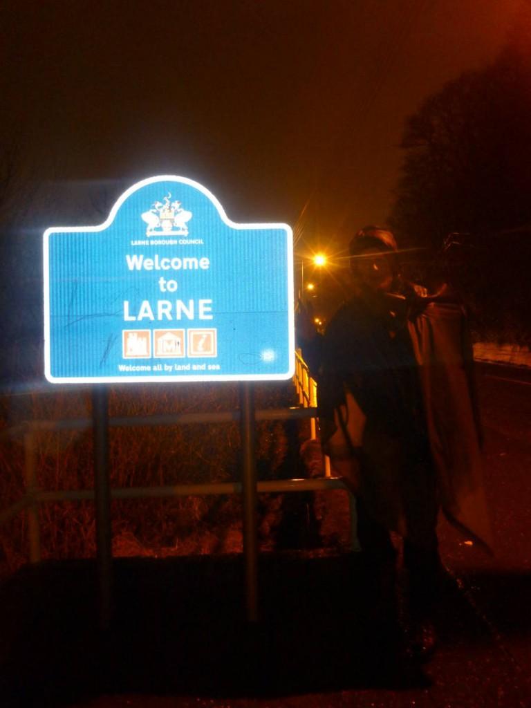 Nous arrivons à Larne totalement épuisés, mais heureux comme jamais !