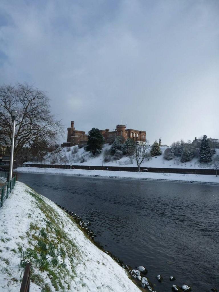 Inverness sous la neige