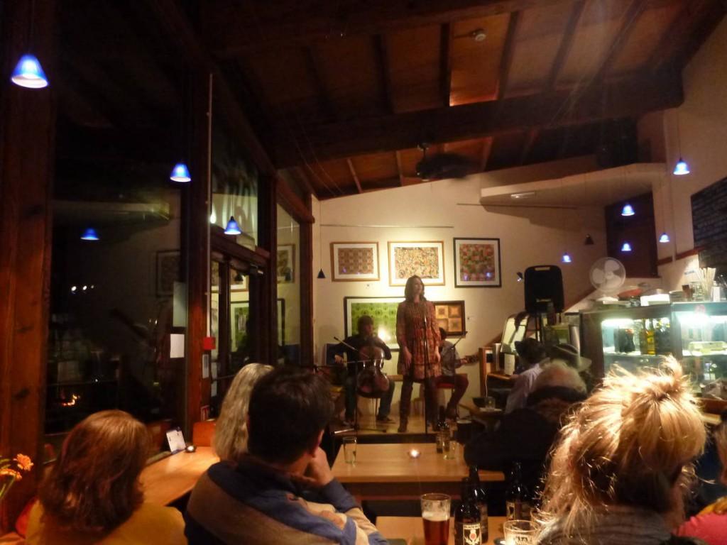 Concert dans la communauté unique au monde de Findhorn