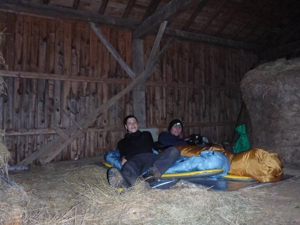 La paille nous offre de belles nuits au sec