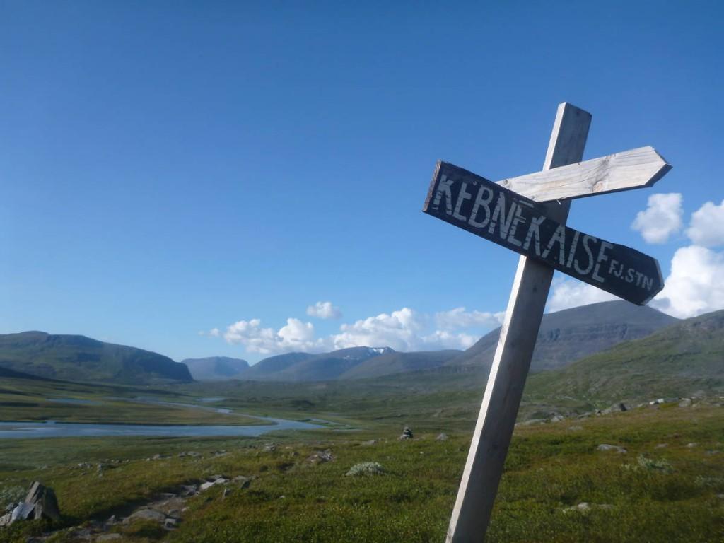 Nous décidons de gravir le Kebnekaise, la plus haute montagne de Suède