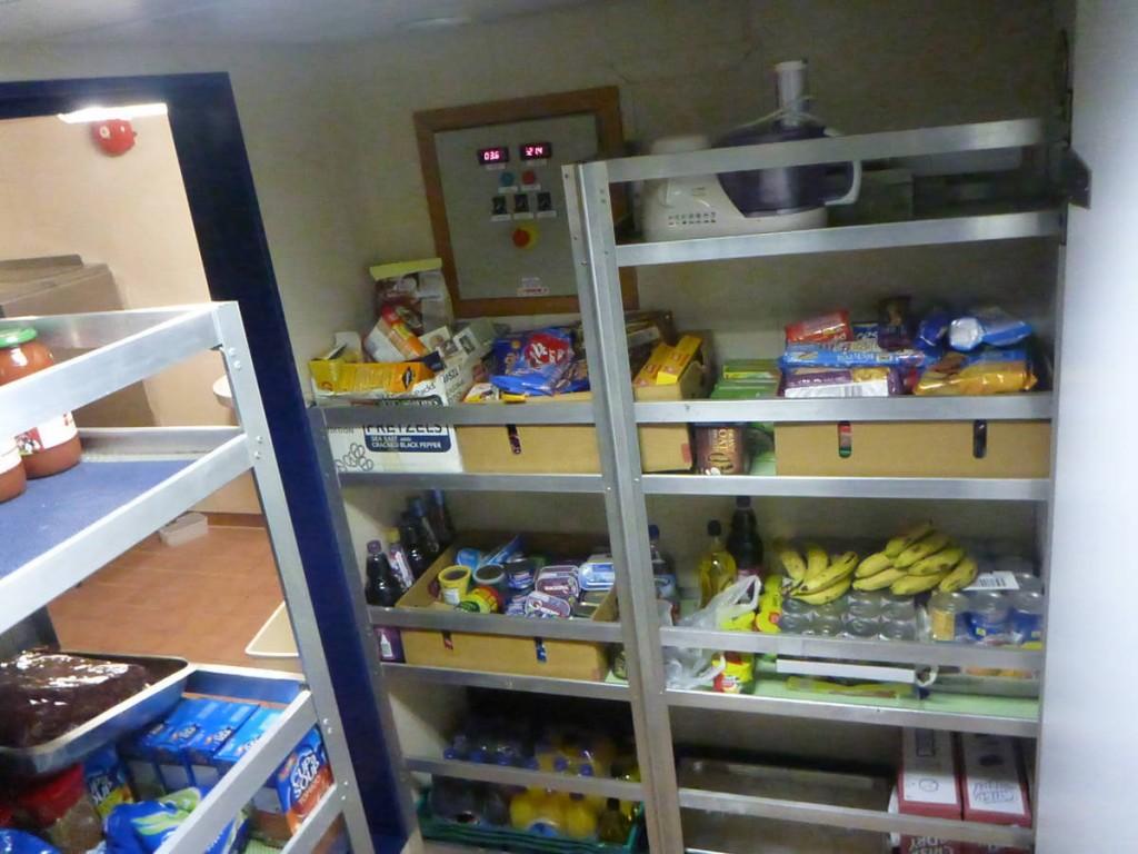 Les réserves de nourritures