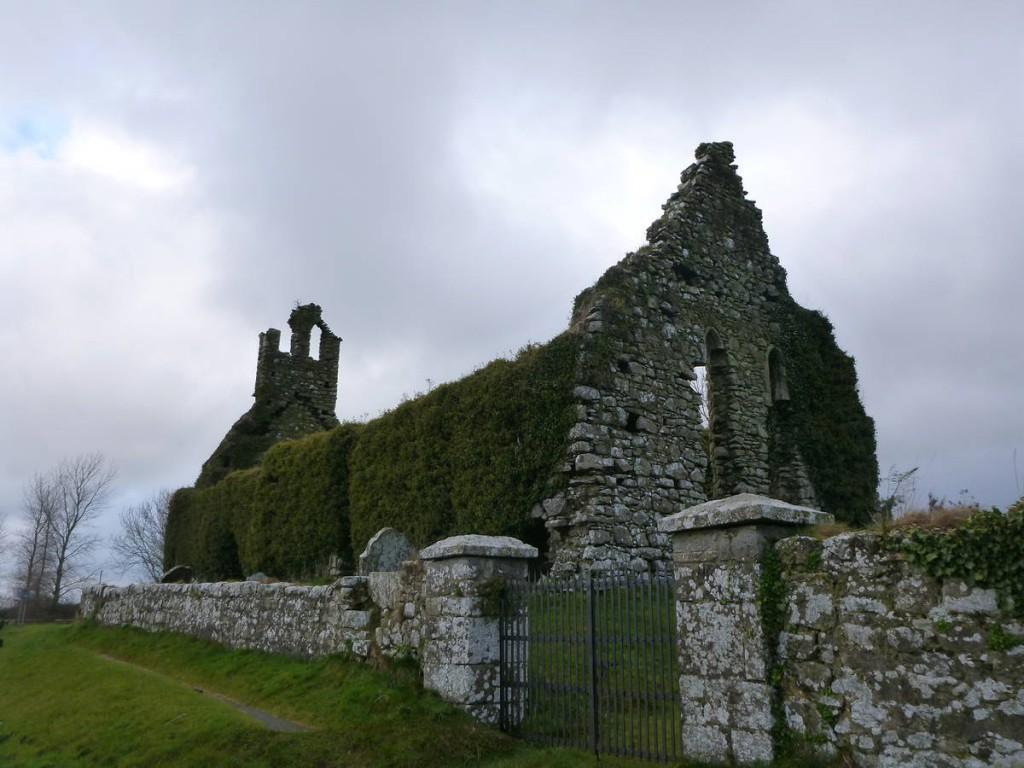 Les ruines de châteaux sont partout