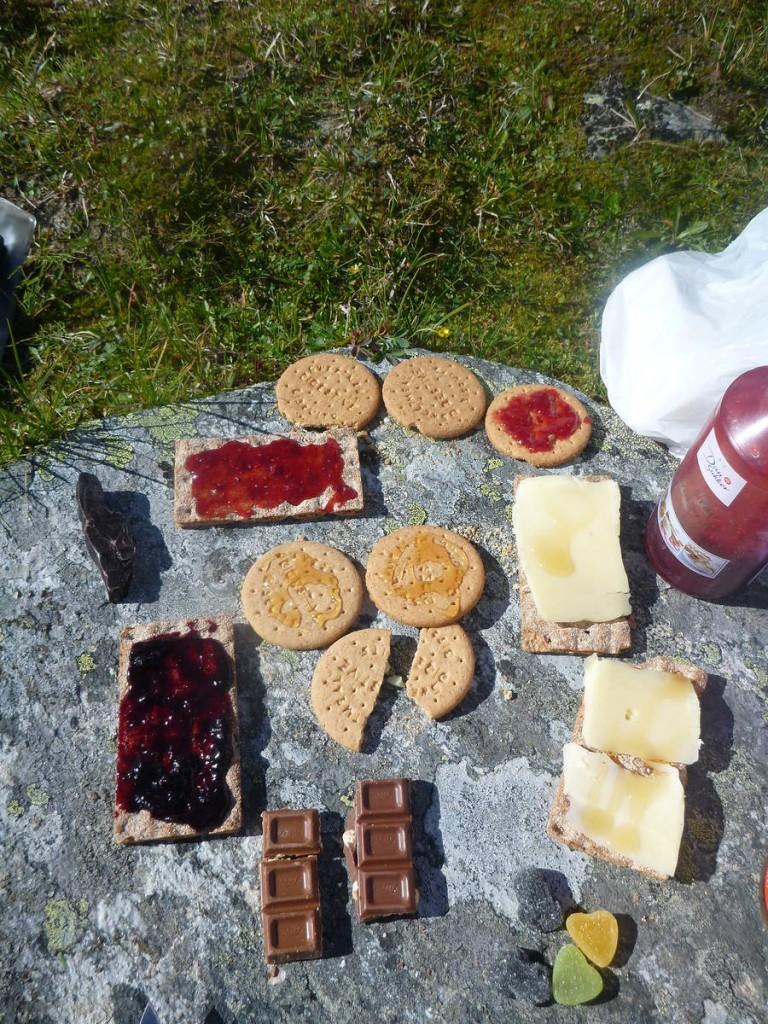 Les aliments prennent un tout autre goût en montagnes...