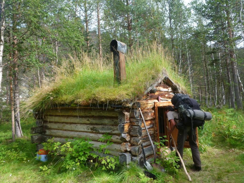 Un cabane de hobbits !