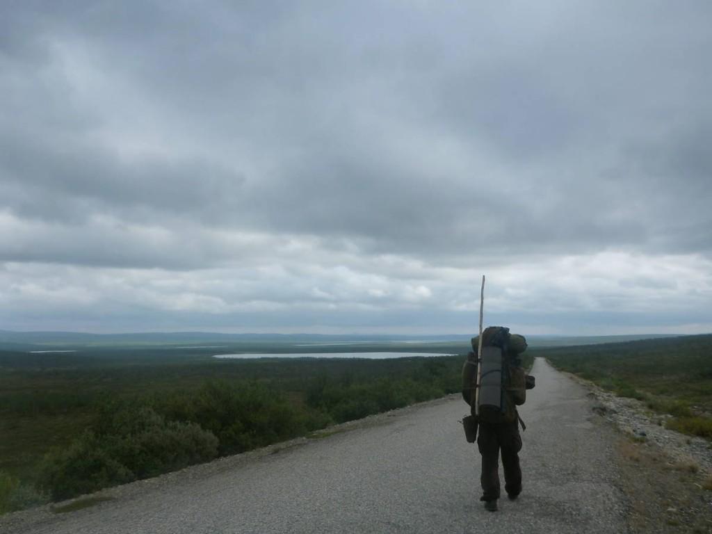 Les montagnes se finissent. Nous entrons dans le Finmark, la région de Norvège du nord la plus déserte et plate