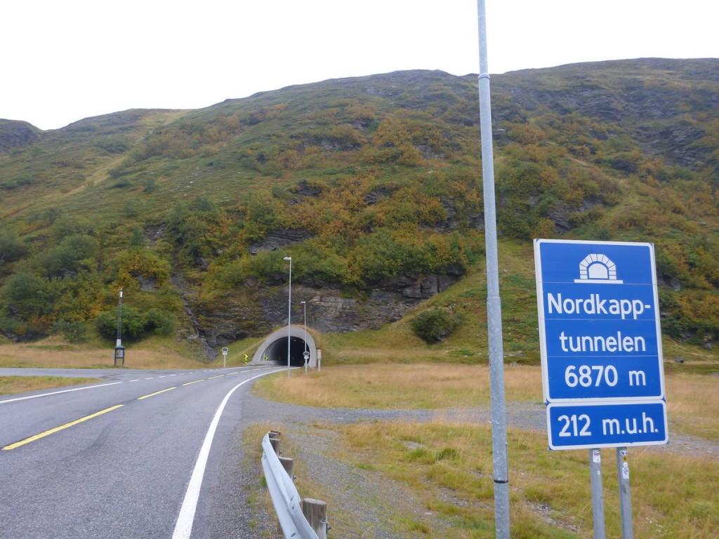 Un tunnel de presque sept kilomètres passant sous la mer du nord