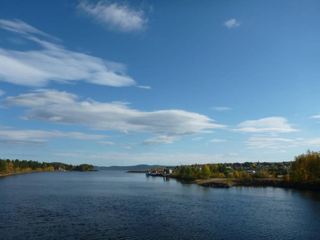 Le lac d'Inari