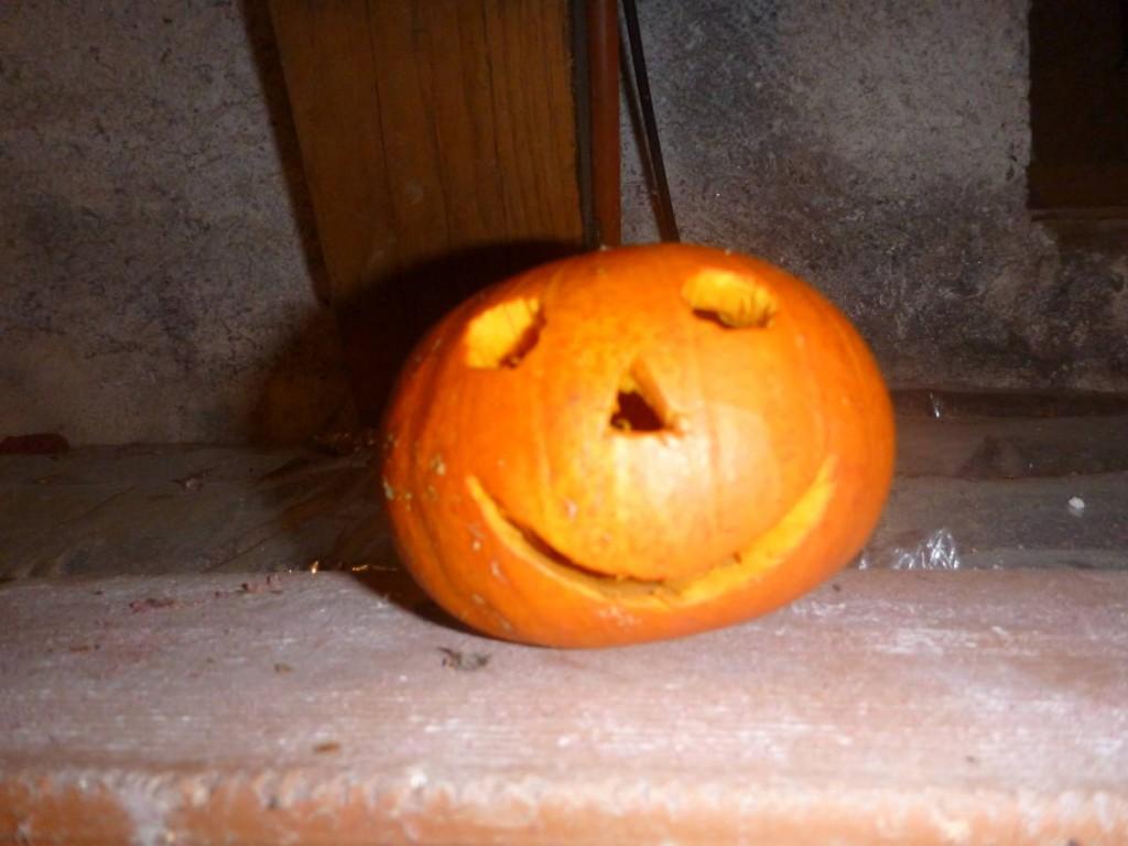 Cadeau offert à une hôte pour halloween