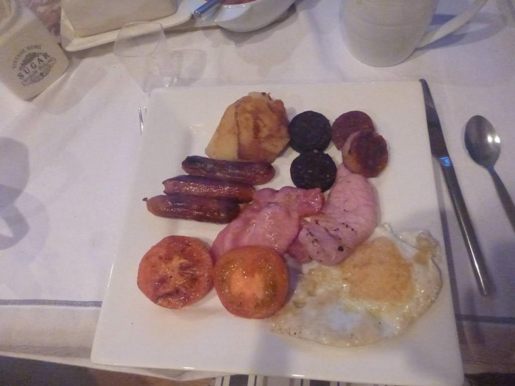 Le full irish breakfast, le petit déjeuner des anciens qu'ils continuent à manger