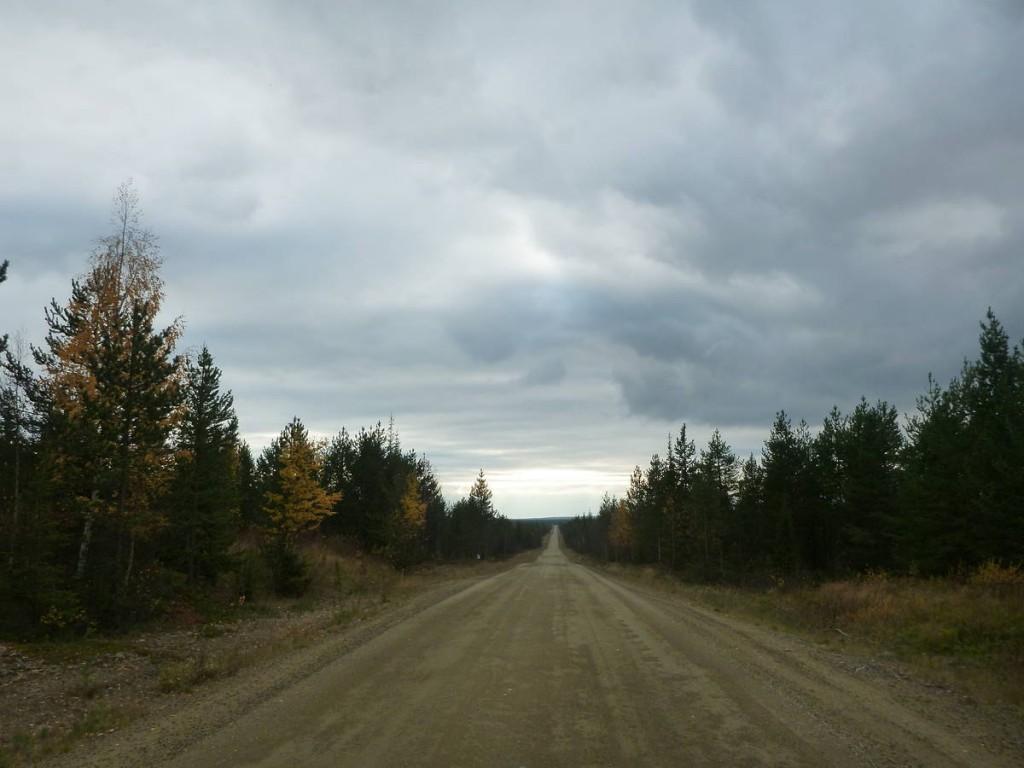 Une piste de près de deux cent kilomètres sans s'arrêter. Cinq jours de marche sans croiser personne...