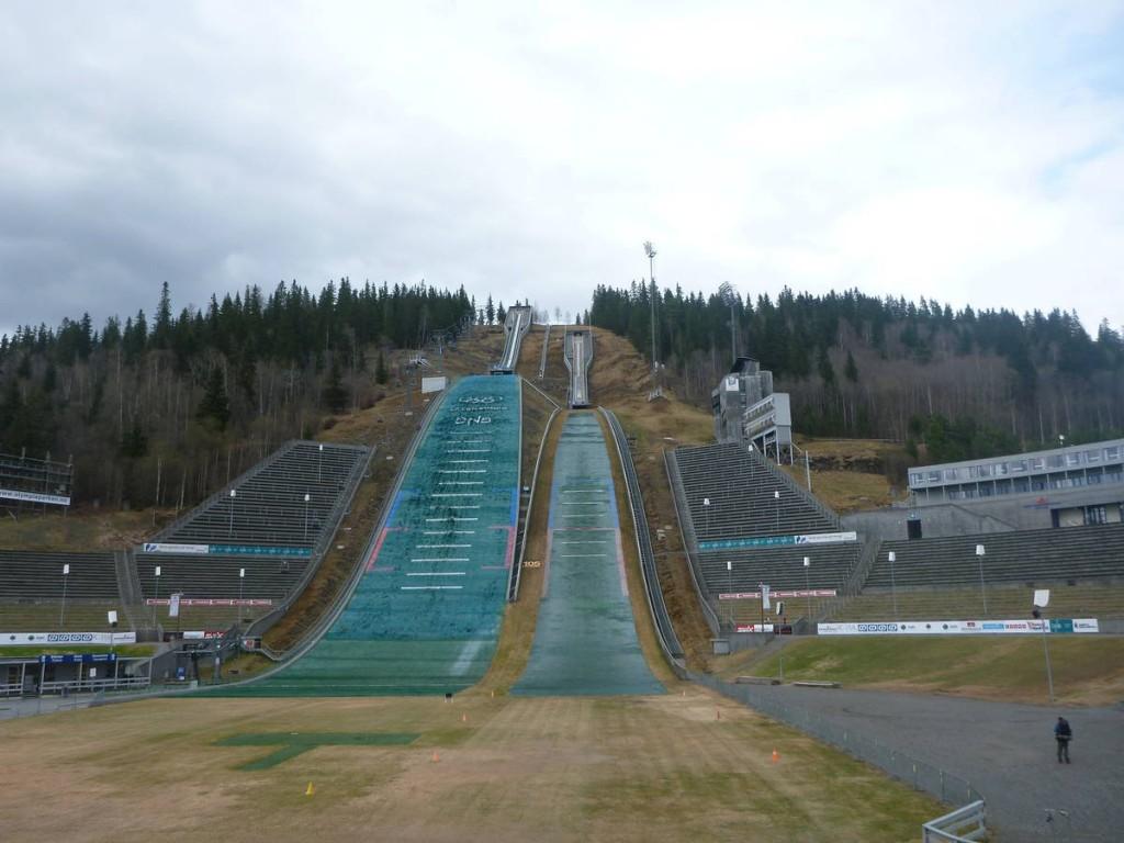 Le tremplin olympique de Lillehammer