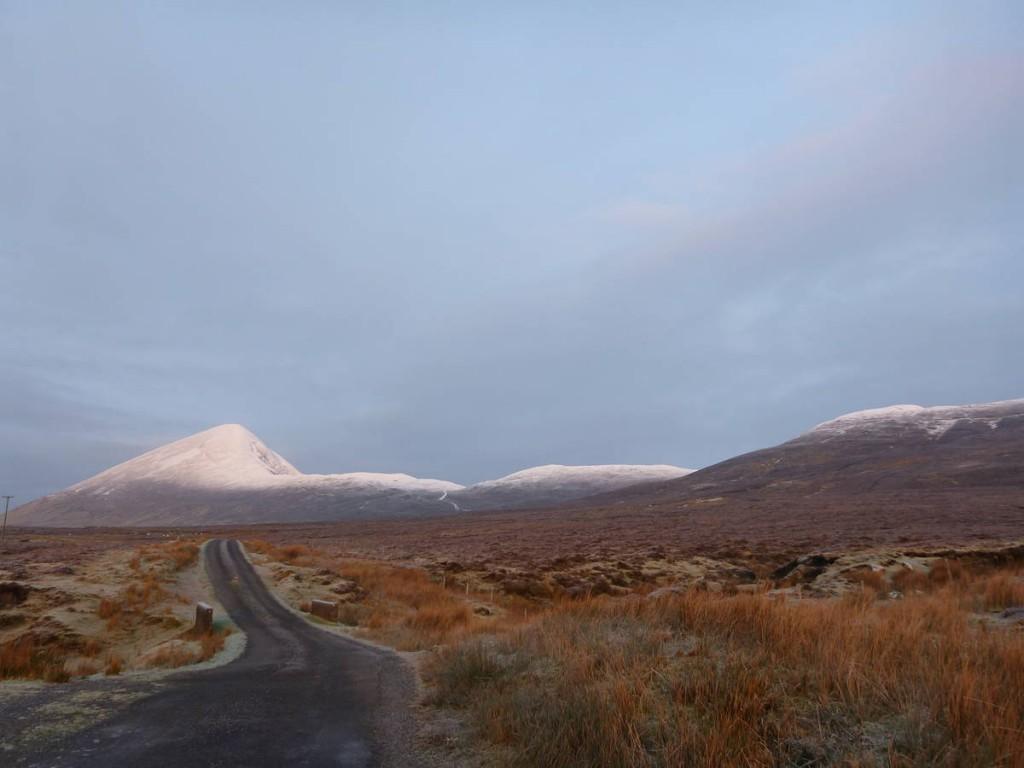 La célèbre montagne Saint Patrick, que l'on décide finalement de gravir