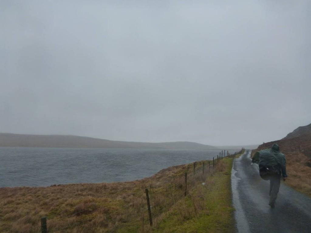 Beaucoup de pluie et de vent