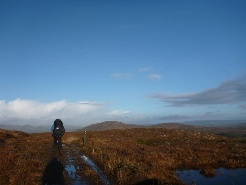 Nous suivons la Sligo way durant quelques jours