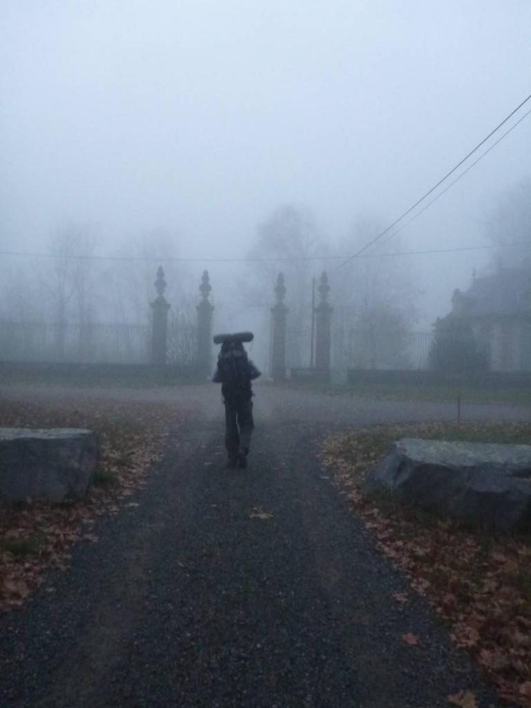 Marcher en automne