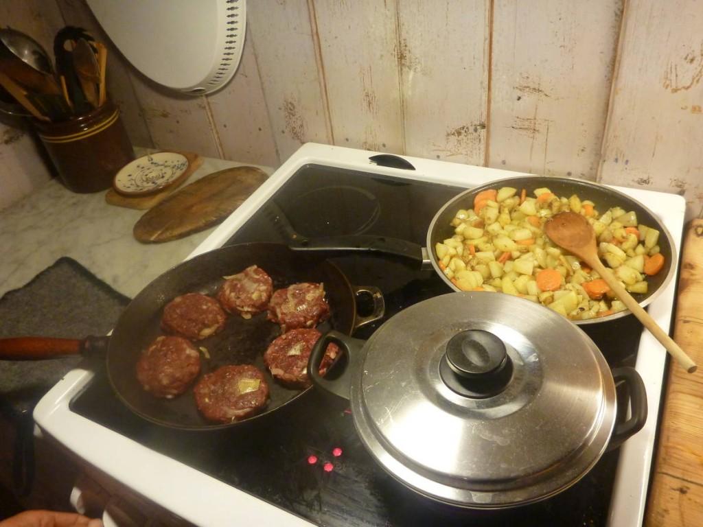 La cuisine en sa compagnie est un vrai moment de plaisir