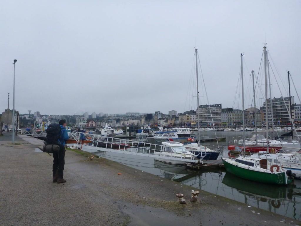 Arrivée à Cherbourg