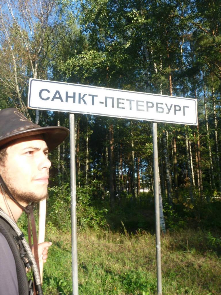 Arrivée dans la mythique ville de St Petersbourg