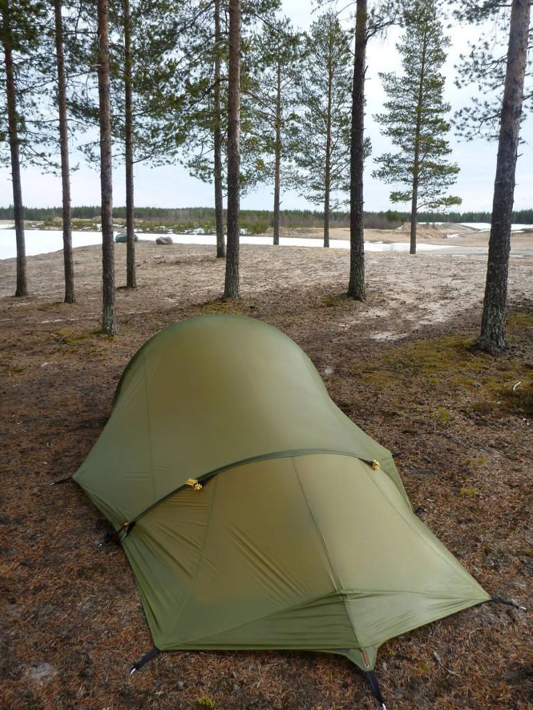 Ma nouvelle tente