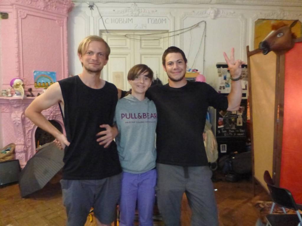 Sveta et Evgenii, deux amoureux d'une gentillesse sans fin