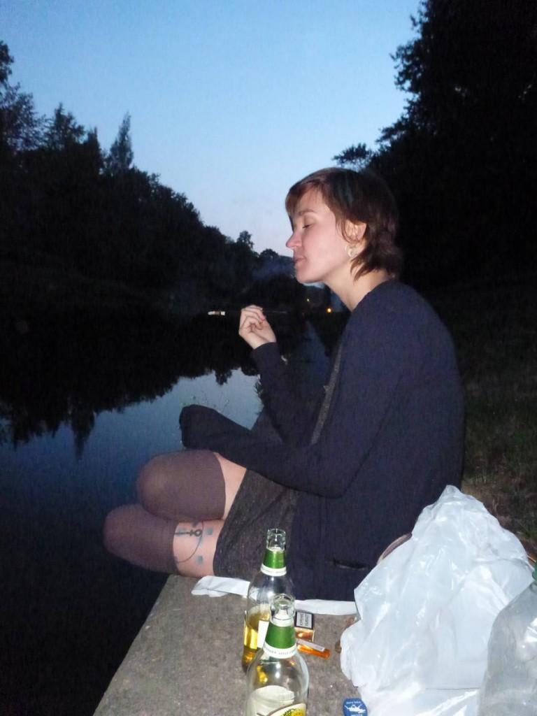 Soirée avec Tania le long des canaux de la ville