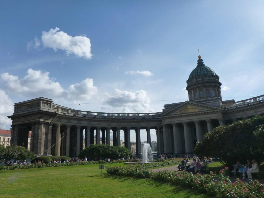 La cathédrale Kazansky