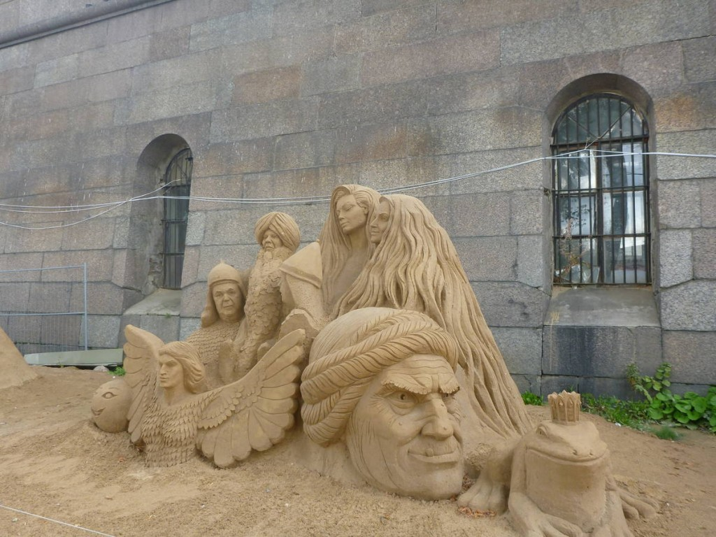 Des constructions de sables