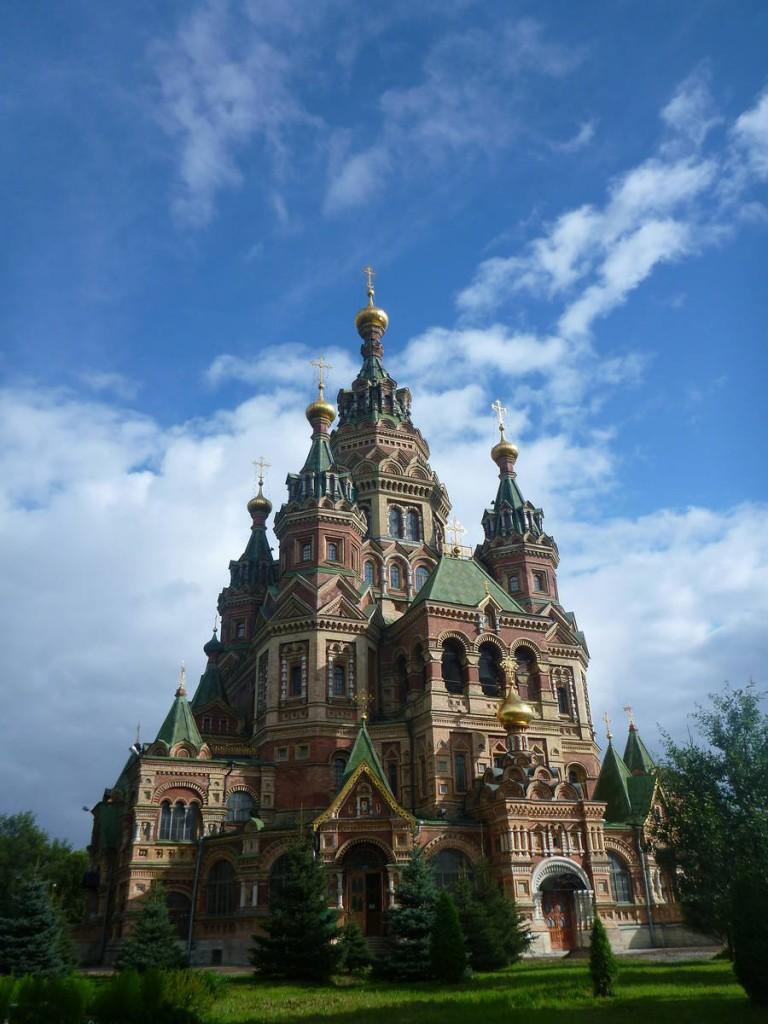 Sans doute la plus belle église orthodoxe que j'ai vue en Russie !