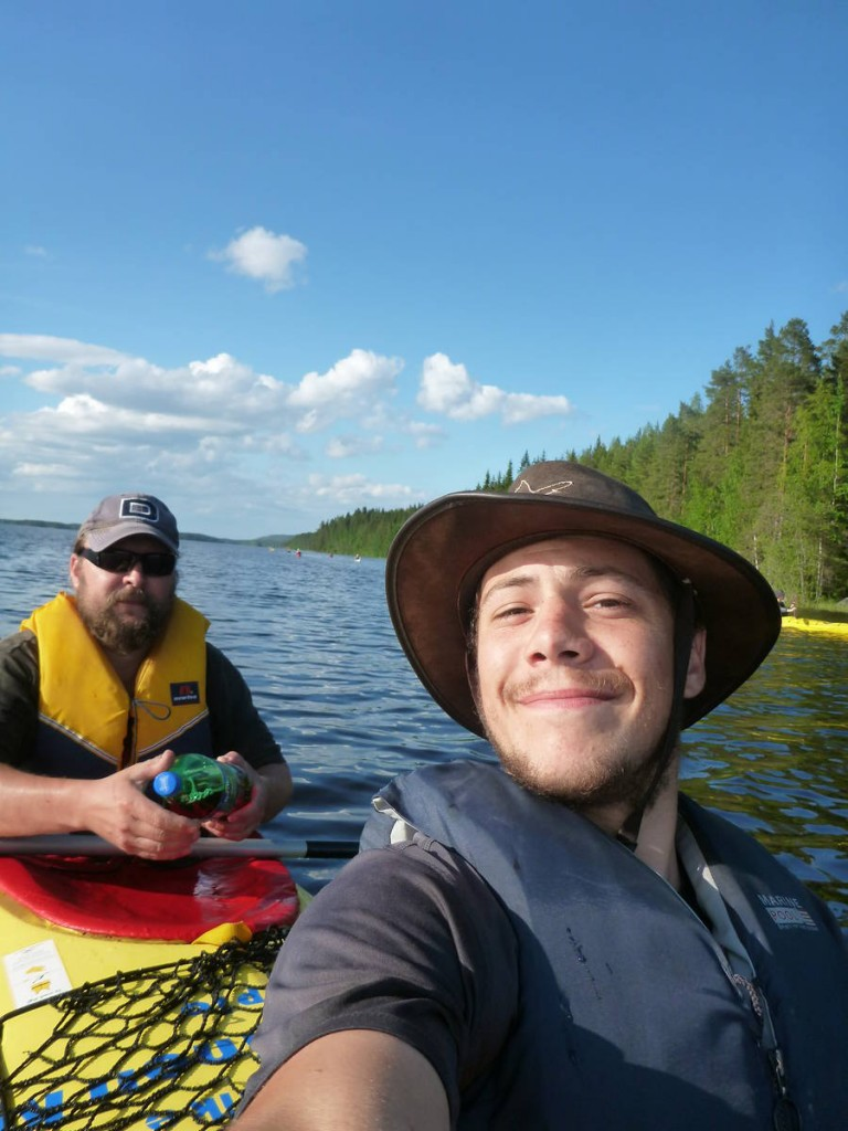 Une journée canoë dans une réserve naturel