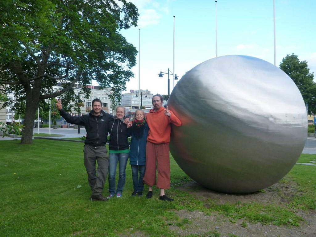 Rencontre à Kuopio de deux voyageurs passionnés de cirque