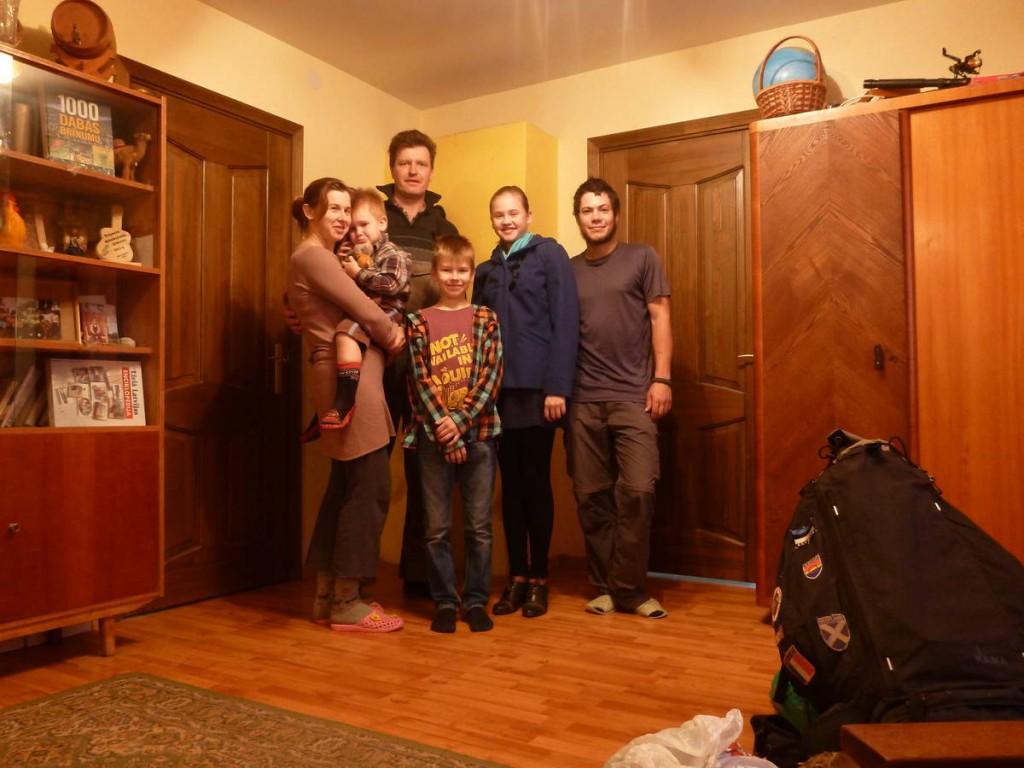 Ma première rencontre lettonienne