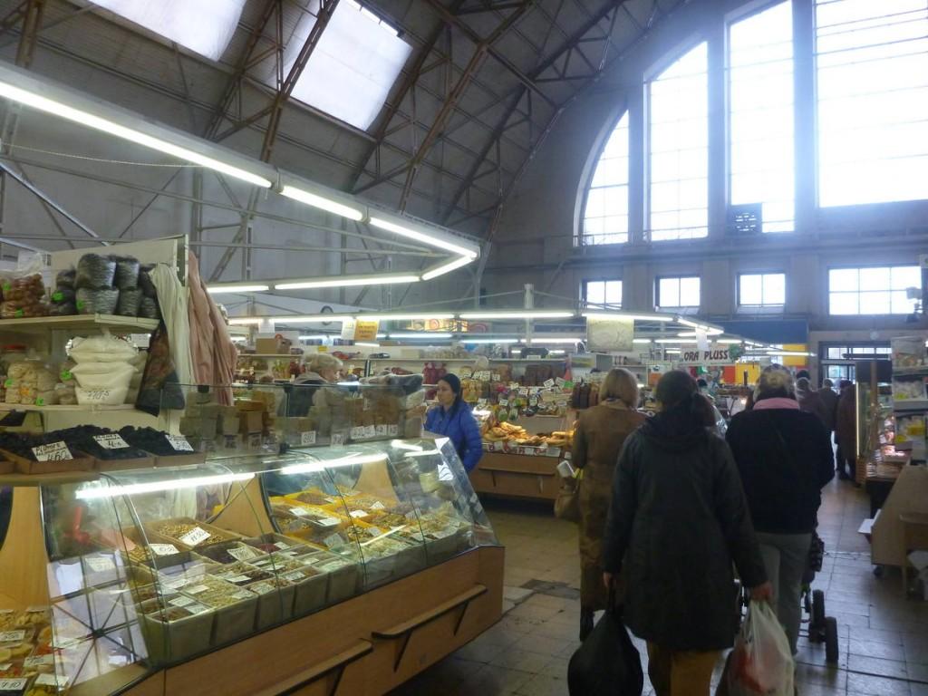 Les impressionnants et célèbres marchés de Riga