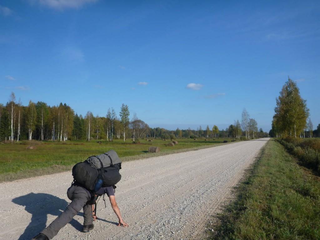 c'est partit pour quarante kilomètres si je veux atteindre le prochain refuge