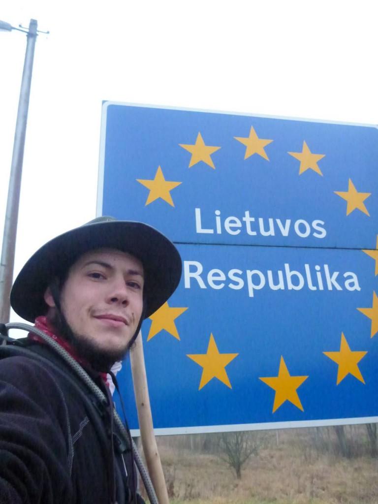 Et j'arrive en Lituanie