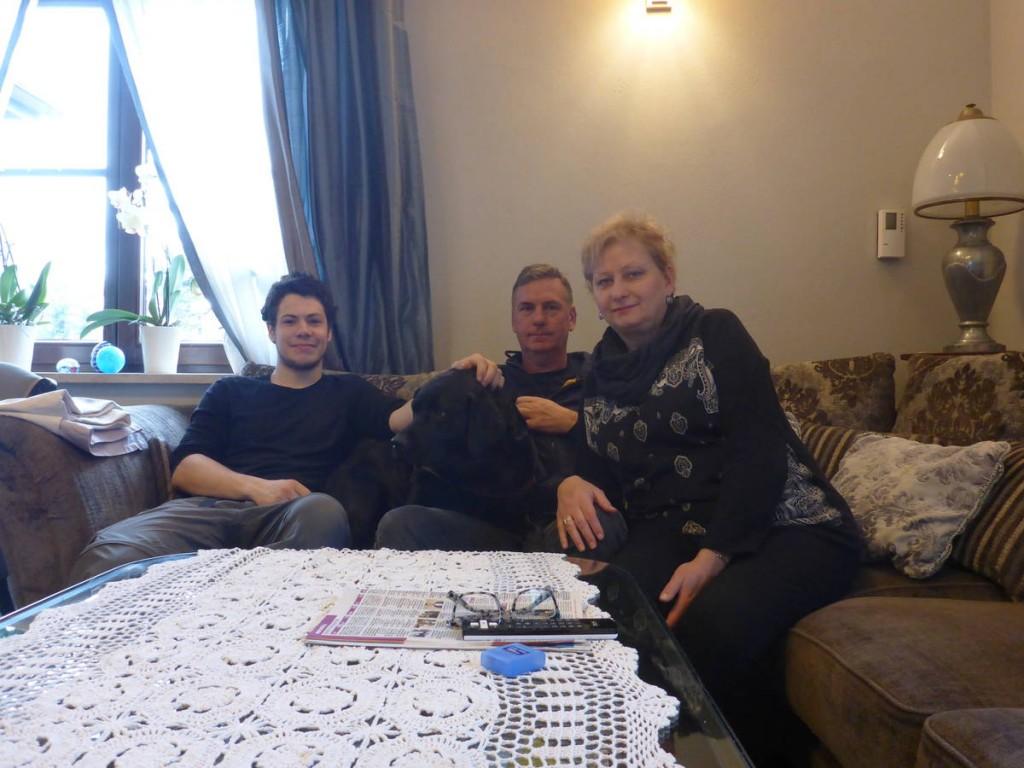 J'arrive vers Wroclaw où Mietek et Beata me loge dans leur belle maison durant plusieurs jours