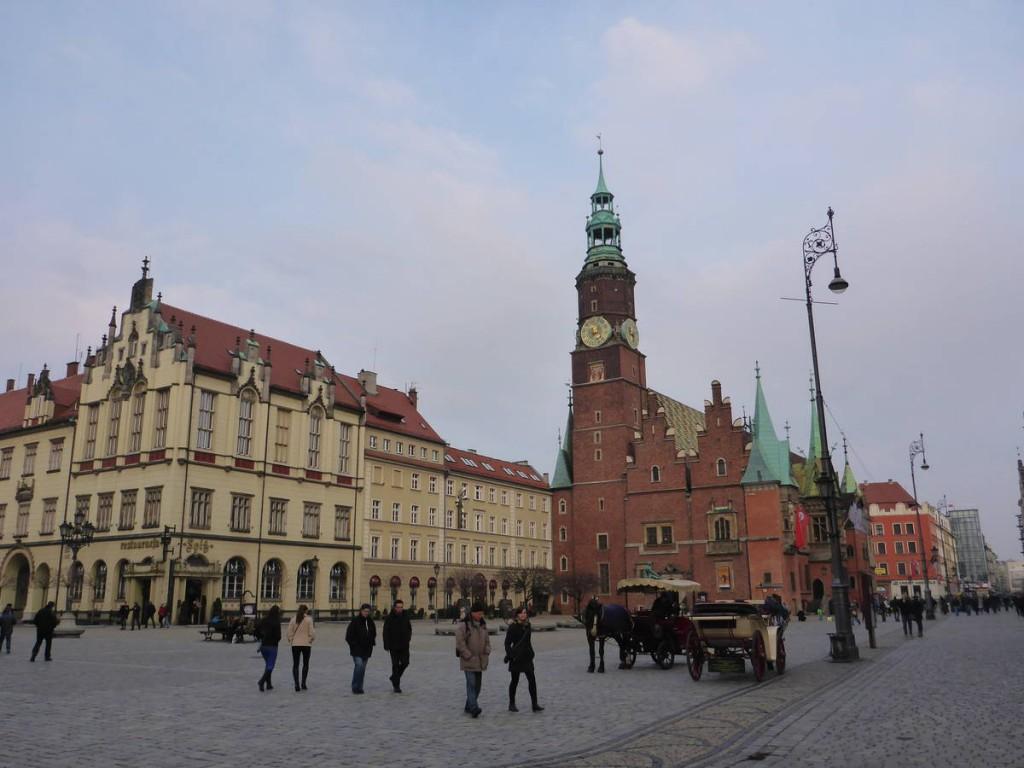 La ville de Wroclaw